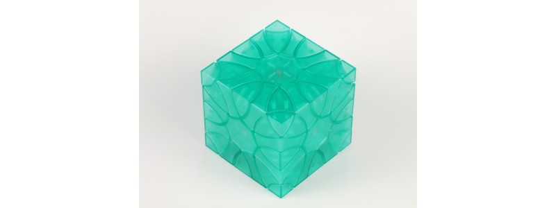 Clover Cube - titanium green