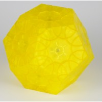Clover Dodeca hedron (yellow)