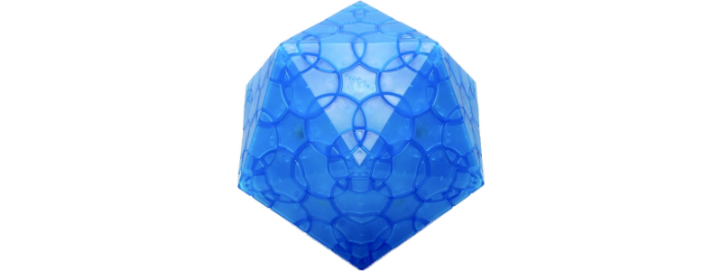 Clover Icosahedron - sky blue edition - LIMITED